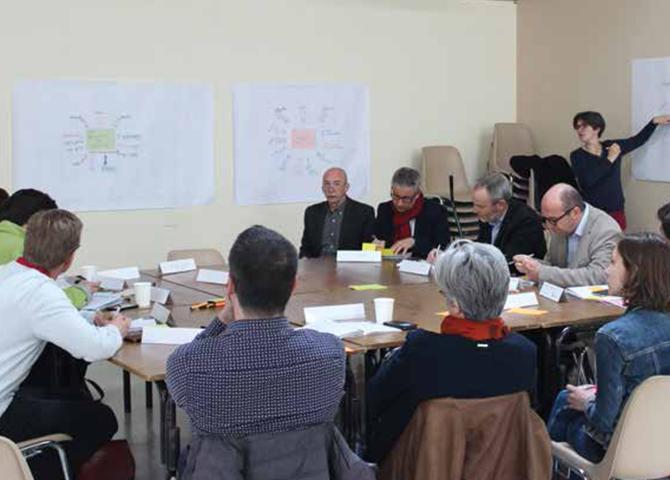 Les collaborations entre le PNR des Boucles de la Seine normande et les EPCI de son territoire sont formalisées dans des conventions co-construites par les élus et partenaires du PNR dans la cadre du « contrat de Parc ».© PNR des Boucles de la Seine normande