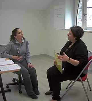 Mise en situation lors des formationsaux techniques d'audition
