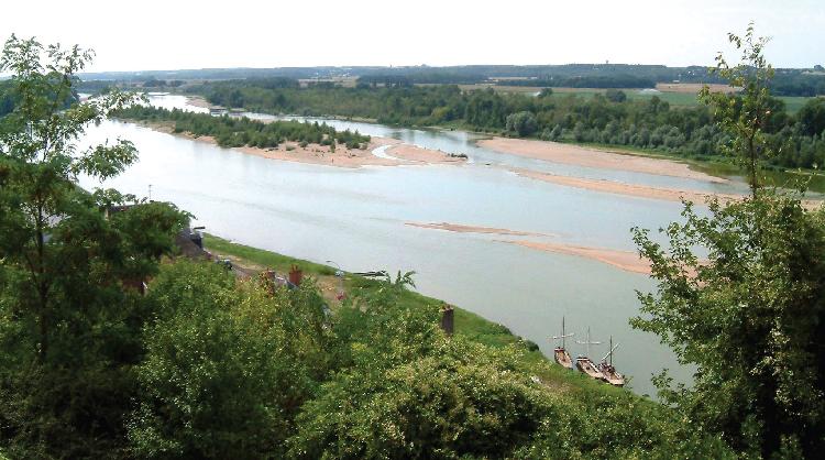 Vallée de la Loire, protégée au titre de Natura 2000 et du patrimoine mondial. © Christophe Finot