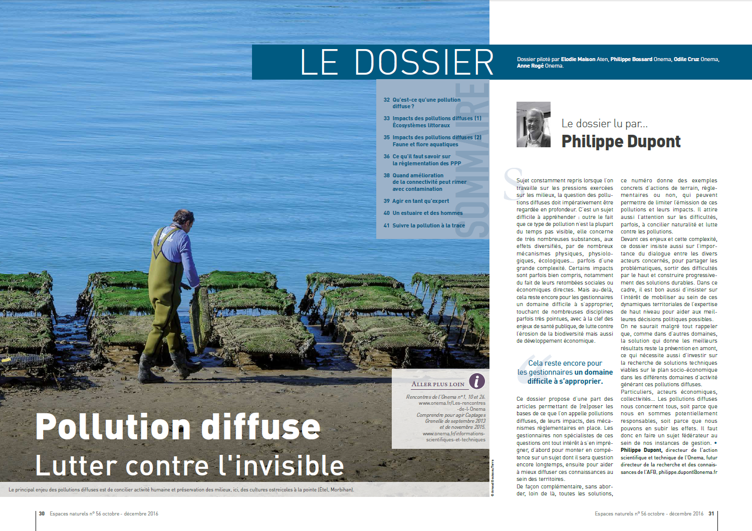 Pollution diffuse, lutter contre l'invisible
