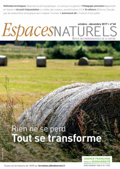 Couverture Espaces naturels n°60