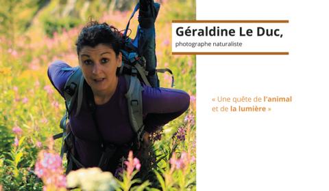 Géraldine Le Duc, photographe naturaliste