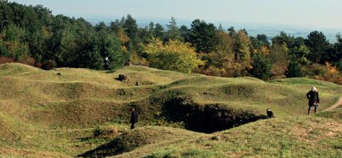Il existe près de 200 km² de forêts qui abritent les traces de la Première Guerre mondiale en Meuse