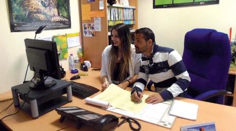 Assistants de formation à l'Aten, en contrat aidé.