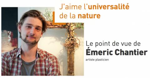 Le point de vue d' Émeric Chantier artiste plasticien