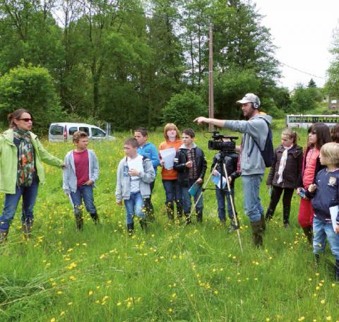 Les enfants, acteurs pour leur patrimoine naturel