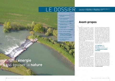Couverture du dossier Puiser l'énergie